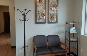 Interior of the Little Falls office of Allison Zak Chiropractic
